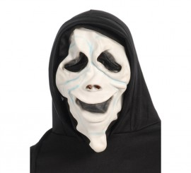 Masque de Scream avec cagoule pour Halloween