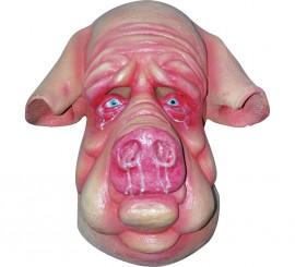 Máscara de Cerdo mocoso para Halloween