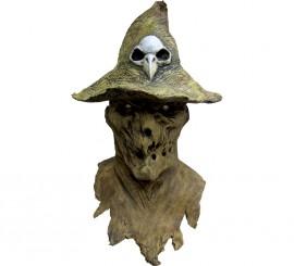 Máscara de Espantapájaros maligno para Halloween