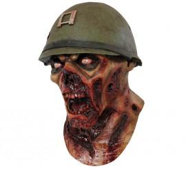 Máscara de Zombie de Capitán Lester de latex