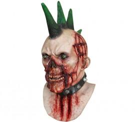 Máscara Billy Punk Zombie para Halloween