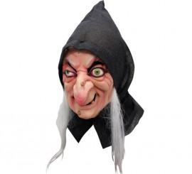 Masque de Sorcière des Neige en Latex Halloween