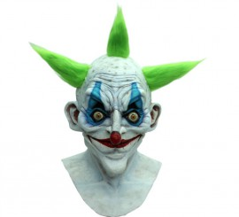 Masque de Vieux Clown en Latex Halloween