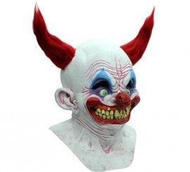 Masque Chingo Clown en Latex pour Halloween