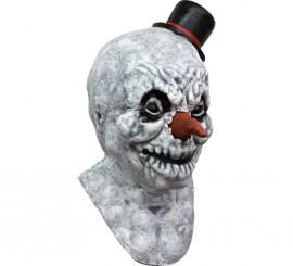 Máscara Frosty Jack el Muñeco de Nieve para Halloween