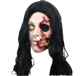 Masque de Pretty Woman Zombie en Latex Halloween