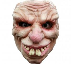 Masque de Vieillard à dents en Latex Halloween