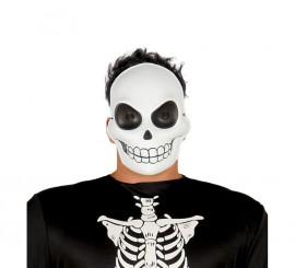 Careta de Calavera de plástico para Halloween