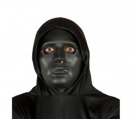 Careta Negra para Halloween