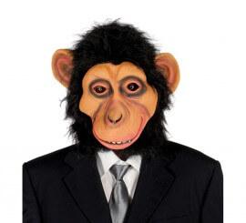 Careta de Chimpancé con Pelo