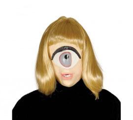 Masque avec 1 oeil et des cheveuz