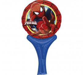 Globo auto-inflable de Spiderman de 23 cm