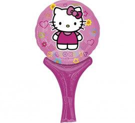 Globo auto-inflable de Hello Kitty de 23 cm