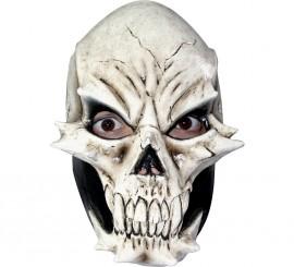 Máscara de Calavera demoniaca de látex
