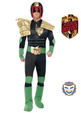 Disfraz de Juez Dredd para Hombre talla M