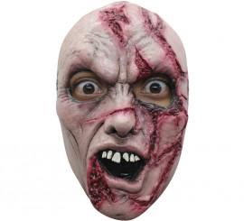 Máscara Zombie con Cortes para Halloween