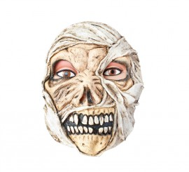 Masque de Momie pas cher en Latex Halloween
