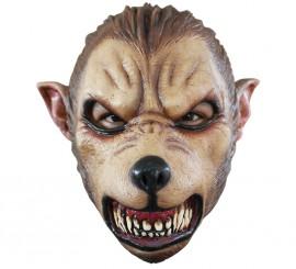 Masque de Nouveau Loup Garou en Latex Halloween
