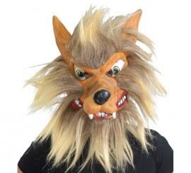 Careta de Lobo con pelo