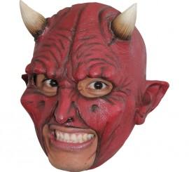 Máscara Chinless Devil de látex para Halloween