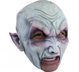 Masque Vampire sans menton en Latex pour Halloween