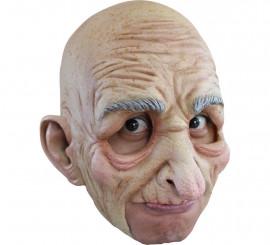 Masque Vieillard sans menton en Latex pour Halloween