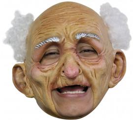 Masque de Vieillard sans menton en Latex Halloween