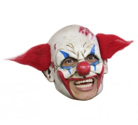 Masque Clown Deluxe en Latex pour Halloween