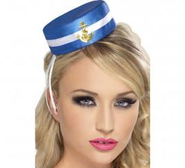 Mini Chapeau de Marin avec Ancre Dorée