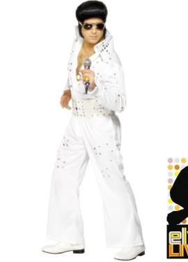 Disfraz Elvis auténtico con Joyería para Hombre