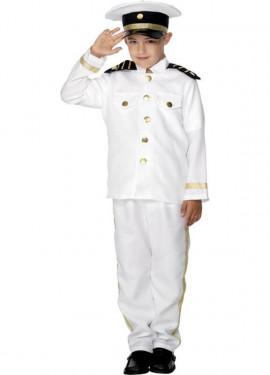 Disfraz Capitán de Barco para Niño