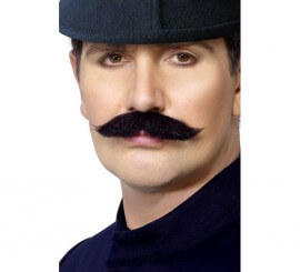 Bigote Policía Inglés o Bobbie