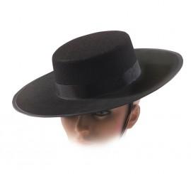 Sombrero de fieltro Cordobés negro INFANTIL