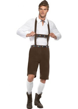 Disfraz de Bávaro para Hombre para Oktoberfest