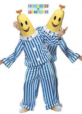 Disfraz de Bananas en Pijama para hombre talla M