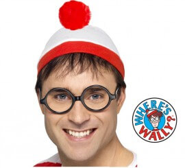 Kit de Dónde está Wally: Gorro y Gafas