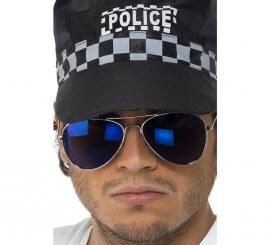 Lunettes de Soleil de Policier Verre Bleu