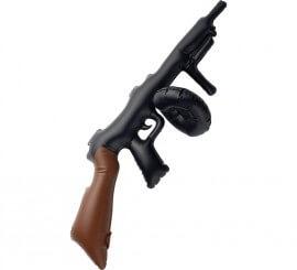 Metralleta o Pistola de Gánster hinchable de 75 cm