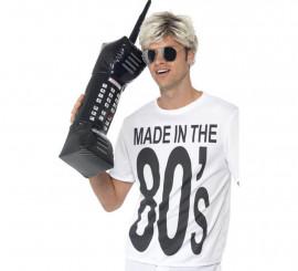 Teléfono Móvil Retro Gigante Hinchable de los 80