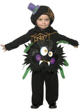 Disfraz Araña Loca para Bebé de 1 a 2 años para Halloween