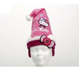 Gorro de Papa Noel Hello Kitty 27 cm.