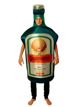Disfraz de Botella Jager para Adultos talla Universal