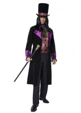 Disfraz de Conde Gótico para Hombre
