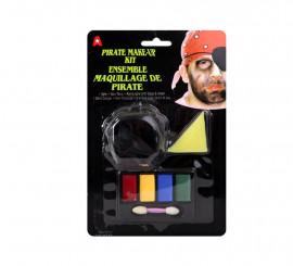 Set de Maquillage de Pirate pour Carnaval et Halloween