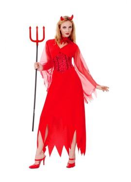 Disfraz de Diablesa Devil para mujer talla M-L