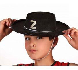 Sombrero de héroe enmascarado para niños