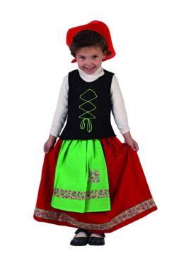 Disfraz de Pastora para niñas 12 a 24 meses