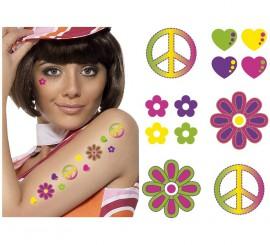 Tatouages Temporaires Hippie