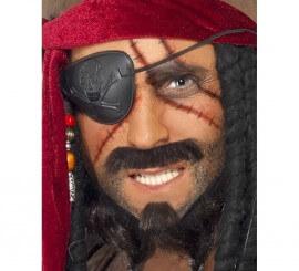 Kit Maquillage Pirate: 2 couleurs et Cache oeil