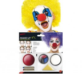 Kit Maquillage Gras et Nez de Clown